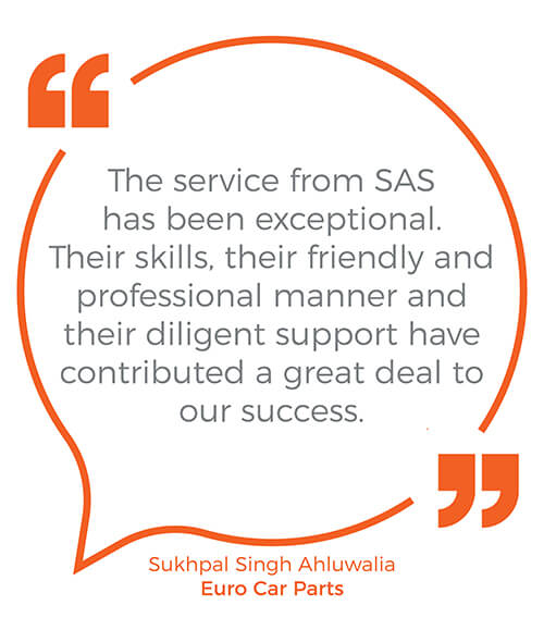 Sas Global Communications Signs Five Year Deal With Euro Car Parts