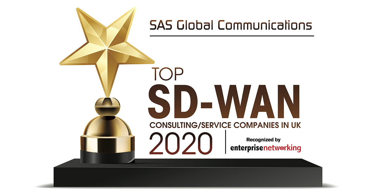 SAS - Top 10 SD WAN provider in the UK