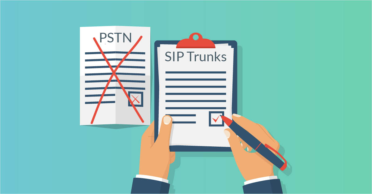 Make the move from PSTN to SIP Trunks