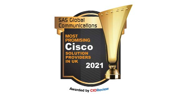 SAS recognised as a Top-10 UK Cisco provider